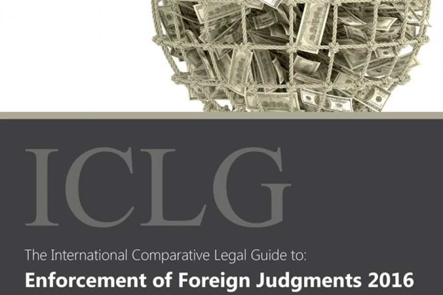 Enforcement of Foreign Judgments 2016