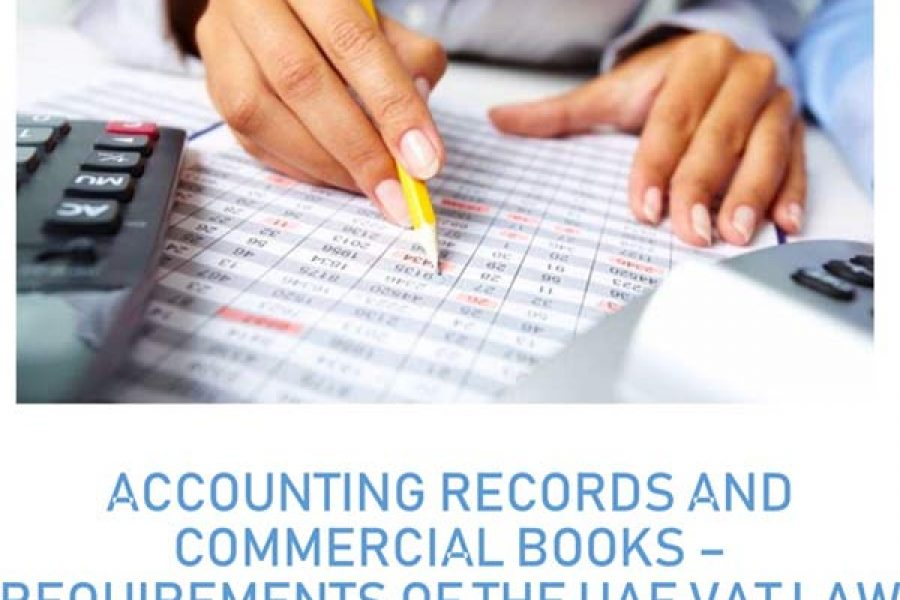 Accounting Records and Commercial Books – March 2019